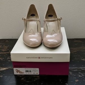 Naturalizer Believe Taupe Shiny 8.5 M